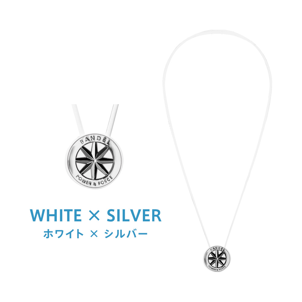 ホワイト×シルバー